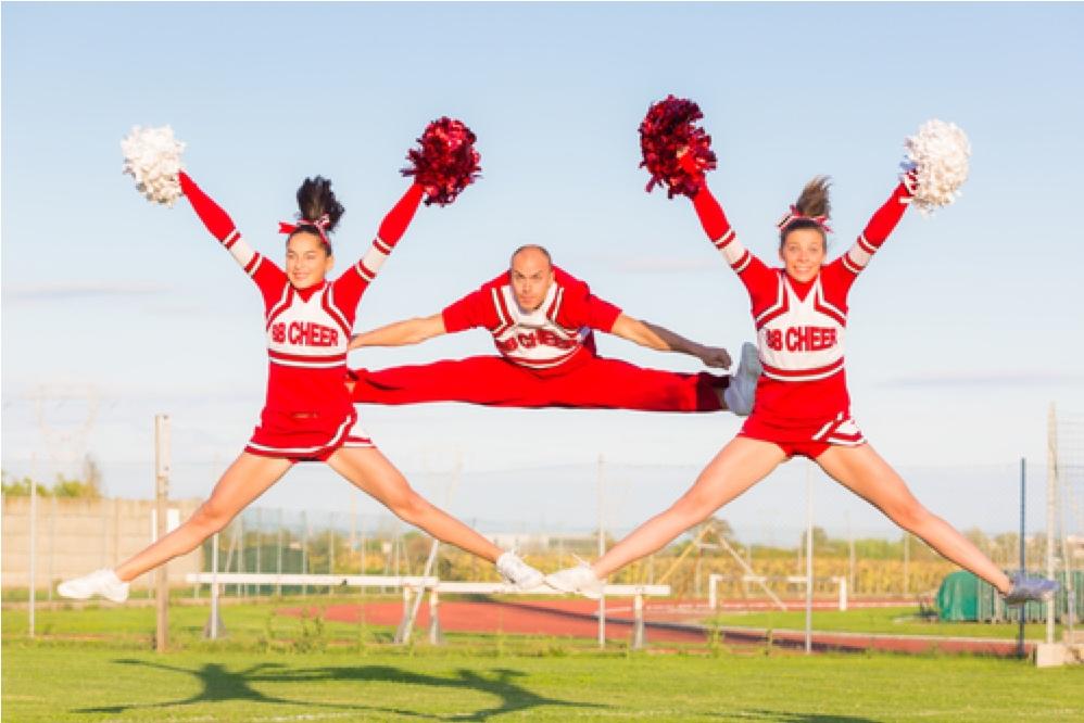 """cheerleading"